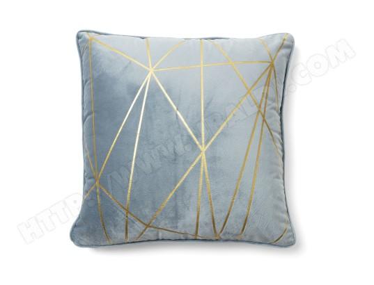 housse de coussin cerise 45x45cm bleu clair kave home ma 88ca185hous o57ou pas cher. Black Bedroom Furniture Sets. Home Design Ideas