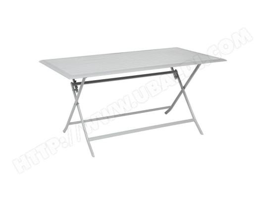 Le Depot Bailleul Table Aluminium Azua 6 Places Silver Mat