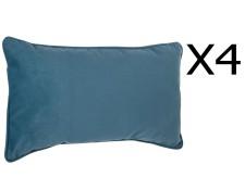 50 x 50 cm Lot de 2 coussins en forme d/'étoile Taupe Dim