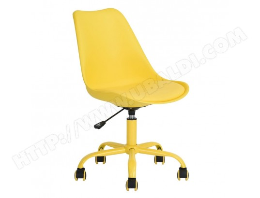 lokken chaise de bureau jaune altobuy ma 23ca549lokk 1fkpi pas cher. Black Bedroom Furniture Sets. Home Design Ideas