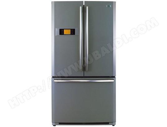 Haier hb22tnn pas cher r frig rateur 3 portes haier livraison gratuite - Refrigerateur americain 3 portes ...