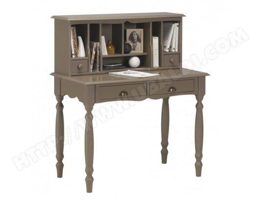 meuble secr taire bonheur du jour taupe beaux meubles pas chers 152 pas cher. Black Bedroom Furniture Sets. Home Design Ideas