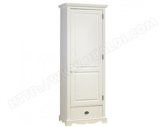 armoire bonneti re blanche de style anglais beaux meubles pas chers 40201 pas cher. Black Bedroom Furniture Sets. Home Design Ideas