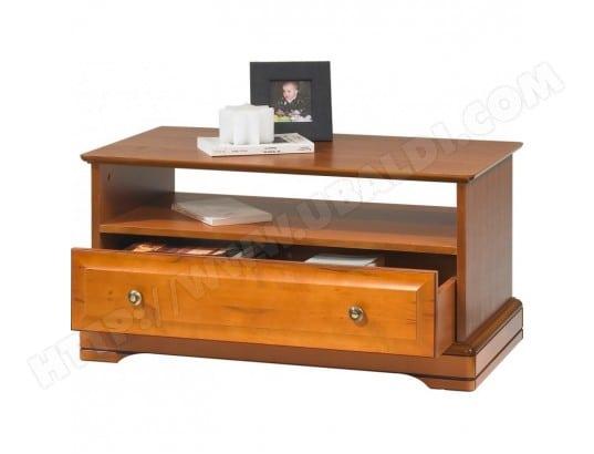 Table Basse 1 Tiroir Traversant Merisier Louis Philippe Beaux Meubles Pas Chers 67351 Pas Cher Ubaldi Com