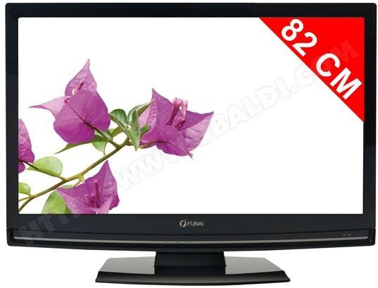 FUNAI LH850M32BB - TV LCD 82 cm - Livraison Gratuite