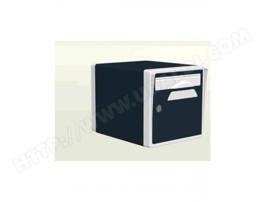 Boite Aux Lettres 1 Porte Gris Anthracite Blanche Creastuce 07 Sf