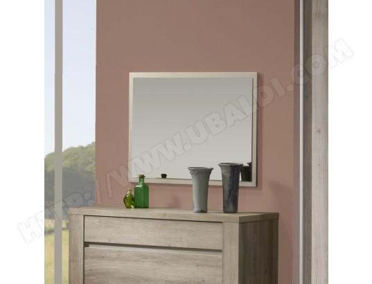 Miroir mural rectangulaire couleur ch ne gris contemporain vahine kasalinea ma 91ca357miro pl1rf for Miroir rectangulaire mural