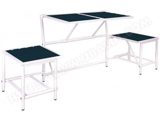 Banc 2 Places Convertible En Tables Et Tabourets Esschert Design