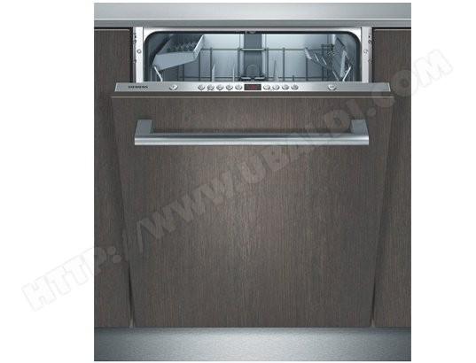 siemens sn65m038eu lave vaisselle tout integrable 60 cm. Black Bedroom Furniture Sets. Home Design Ideas
