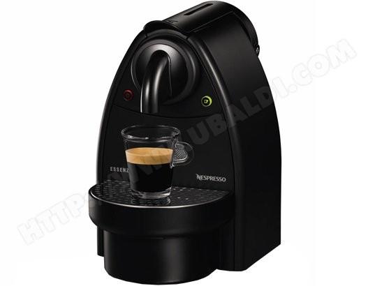 krups yy1536fd essenza noir pas cher nespresso. Black Bedroom Furniture Sets. Home Design Ideas