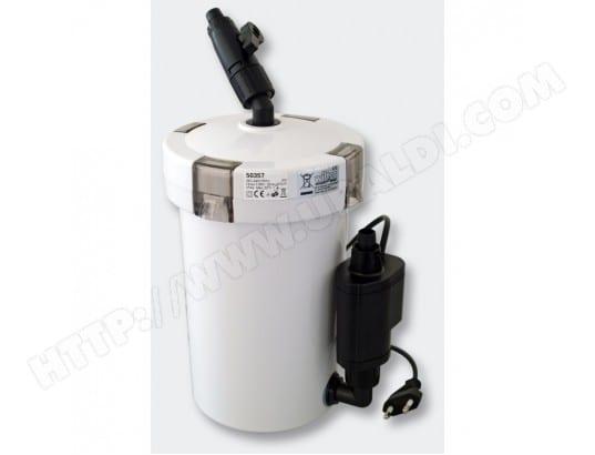 Pompe filtre aquarium bio ext rieur 400 litres par heure for Pompe d aquarium exterieur