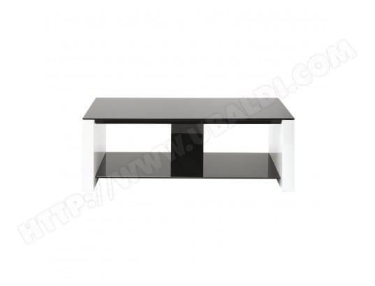 erard erard 35062 smart 1100 meuble 2 plateaux acier noirblanc 110 x 40 x 375 cm 35062