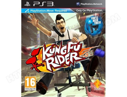 Kung Fu Rider [PS Move] [PS3] SONY 621