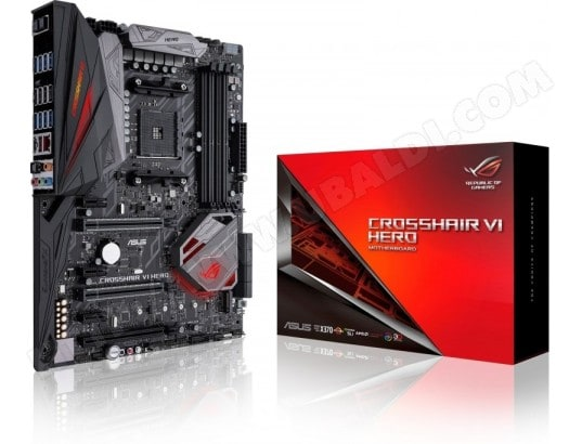 Carte M?re Asus Rog Crosshair VI Hero X370 (AM4) ASUS 114255