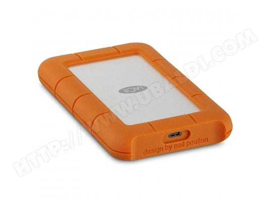 Disque dur externe LACIE Rugged USB-C - 1 To