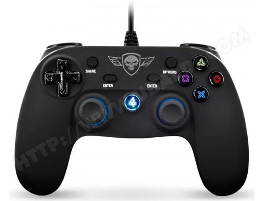 Manette de jeu Spirit of Gamer PS4 Wired Gamepad (PS4) SPIRIT OF GAMER 113270