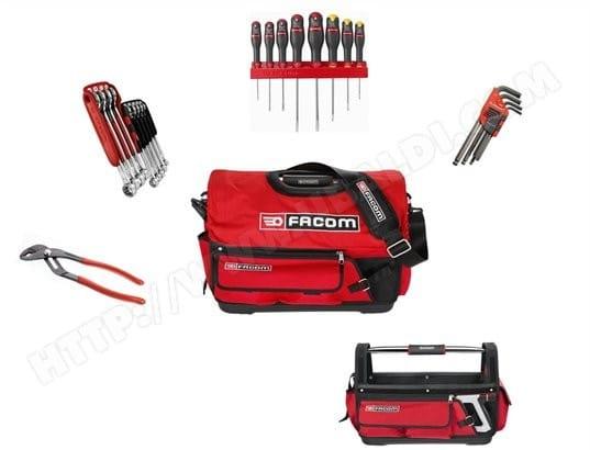 0a47b874e5 Boîte à outils FACOM Probag + 27 outils BS.T20CM1PG Pas Cher ...