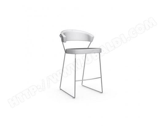 Chaise de bar NEW YORK design italienne en tissu enduit