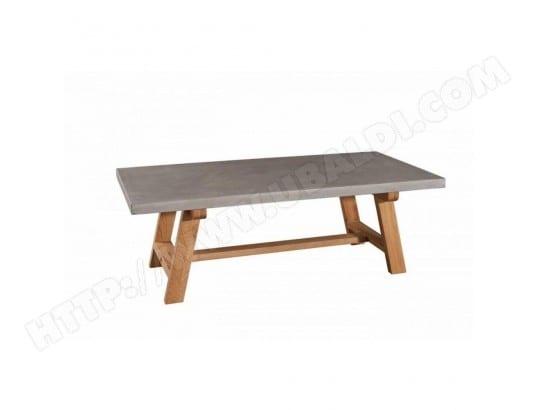 Table Basse Béton Nino En Chêne Style Industriel Inside75