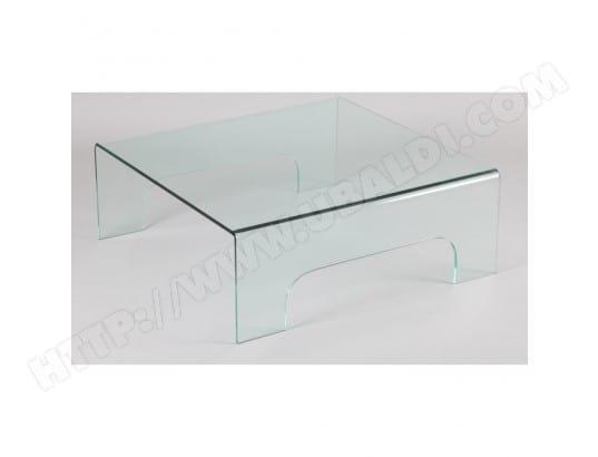 inside75 table basse carr en verre quadrupde 20100841533 - Inside75 Table Basse