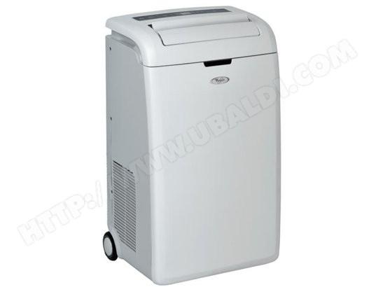 climatiseur mobile r versible whirlpool amd091 pas cher. Black Bedroom Furniture Sets. Home Design Ideas