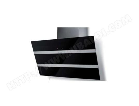 faber ma 60ca35 hott 2ya26 pas cher hotte d corative inclin e 80cm 68db 730m3 h noir inox. Black Bedroom Furniture Sets. Home Design Ideas