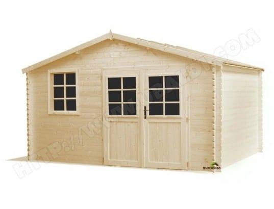 madeira abri de jardin bois mirny 12m2 34mm madeira. Black Bedroom Furniture Sets. Home Design Ideas