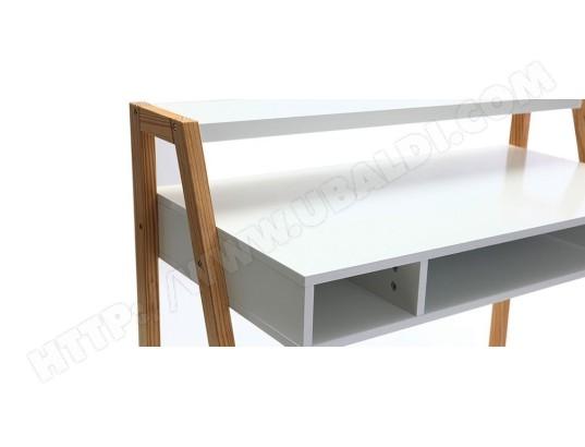 Bureau blanc mat rangements bureau bureaux meubles et rangements