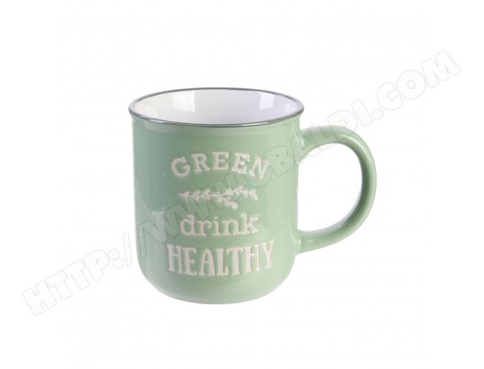Mug vintage Little Market - Vert clair THE HOME DECO FACTORY MA-23CA587MUGV-TS76G