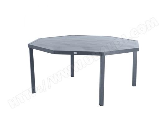 LE DEPOT BAILLEUL - Table octogonale Piazza ardoise ...