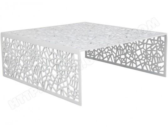 Ma En Inside Basse Blanc Art Coloris Table Splendeur Aluminium CeWodxrB