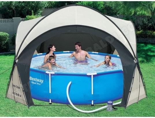 dome pour spa piscine x x m habitat et. Black Bedroom Furniture Sets. Home Design Ideas