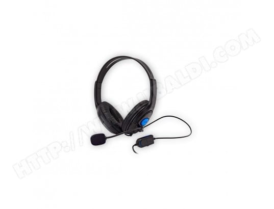 UNDER CONTROL Casque filaire PS4 & Xbox One V2 UNDER CONTROL 1608-CASQPS4