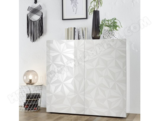 Buffet Haut Blanc Laqué Design Nino Kasalinea Ma 91ca182buff