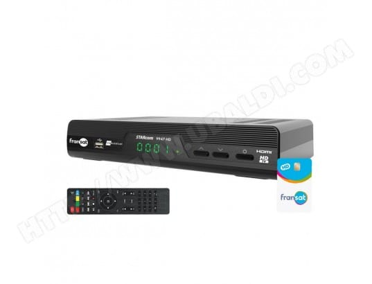 STARcom 9947 HD Récepteur satellite + Carte Fransat PC6 OPTEX STARCOM