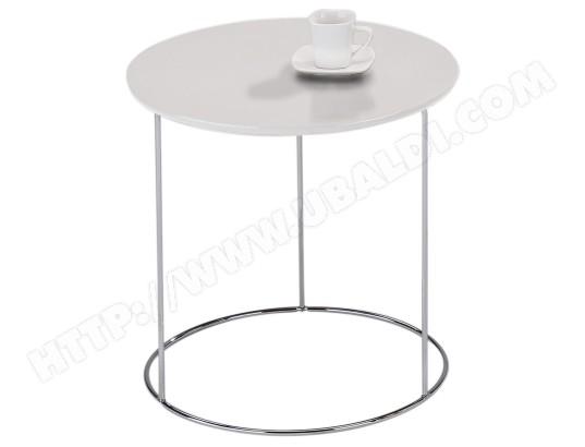 Table D Appoint Fidelius Table Basse Ronde Bout De Canapé