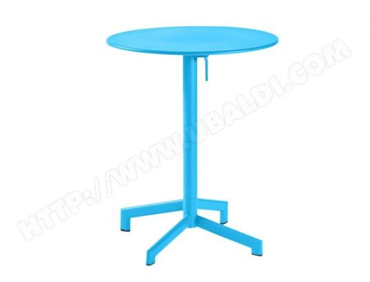 Pliable De 60cm Luxembourg D Table En Petite Jardin Métal 35RL4Ajq