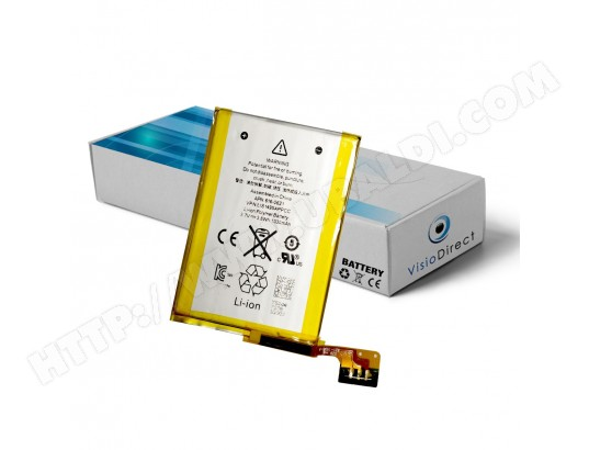 Batterie interne compatible pour Ipod touch 5eme generation 1000 mAh 3.7 V VISIODIRECT MA-82CA501BATT-Y6ZCQ