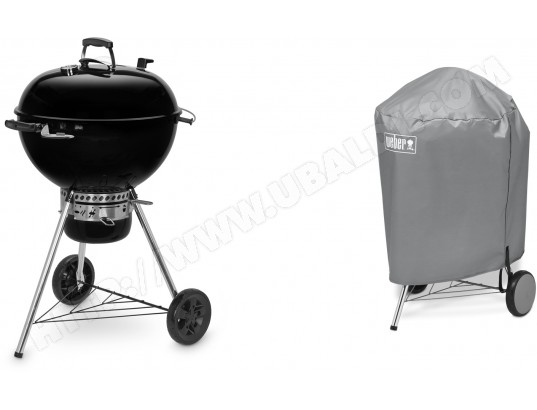 Barbecue charbon WEBER Master-Touch GBS E-5750 Black + housse