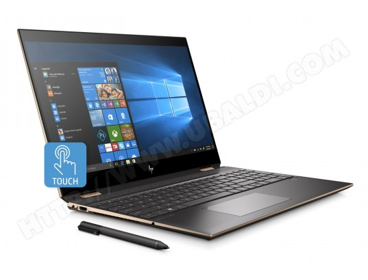 Ordinateur portable tactile HP Spectre x360 - 15-df0000nf