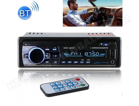 Autoradio-520 autoradio MP3 Lecteur Audio prend en charge Bluetooth Main-libres / FM / USB / SD TBD MA-15CA207AUTO-EH9S4