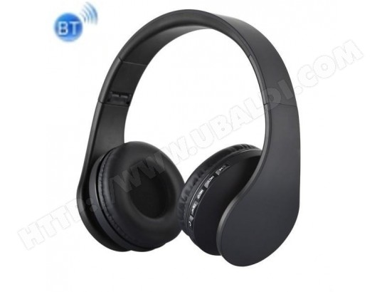 Casque audio bluetooth-BTH-811 Pliage Stéréo sans Fil Bluetooth casque Casque avec Lecteur MP3 Radio FM, pour , iPhone, iPad, iPod, Samsung, TBD MA-15CA53_CASQ-IU74J
