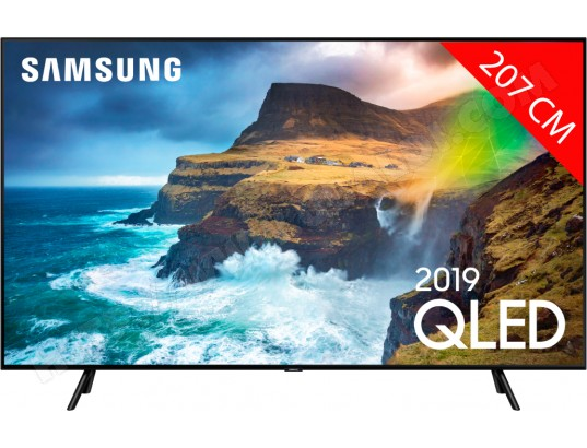 TV QLED 4K 207 cm SAMSUNG QE82Q70R - Full LED Silver - HDR 1000 - Smart TV