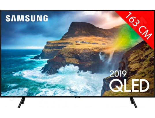 TV QLED 4K 163 cm SAMSUNG QE65Q70R - Full LED Silver - HDR 1000 - Smart TV