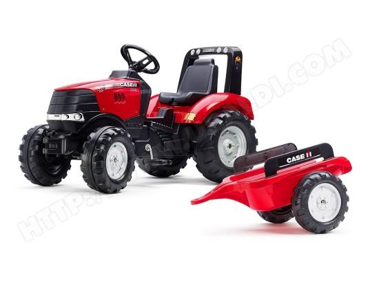Tracteur enfant case ih puma 240cvx remorque falk ma 73ca398trac epahh pas cher - Tracteur remorque enfant ...
