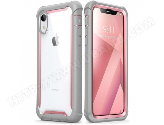 coque antichoc iphone xr rose