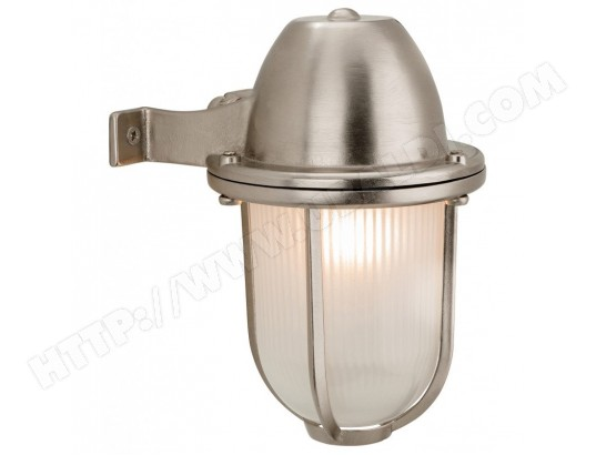 Applique Nautic, lanterne, nickel LUMINAIRE CENTER MA-95CA548APPL-FMK7P