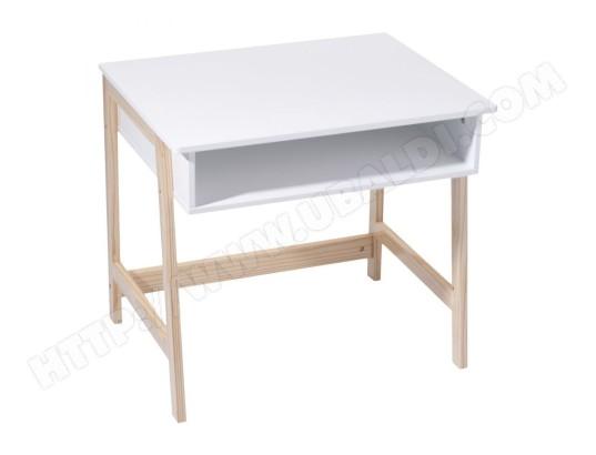 Achat le depot bailleul bureau enfant blanc pieds bois