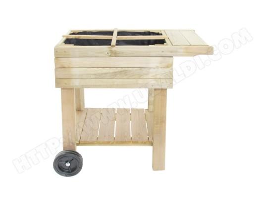 potager sur pied en bois sp cial balcon cemonjardin ma. Black Bedroom Furniture Sets. Home Design Ideas