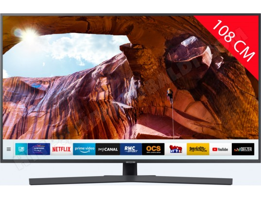TV LED 4K 108 cm SAMSUNG UE43RU7405 - HDR 10+ - Smart TV